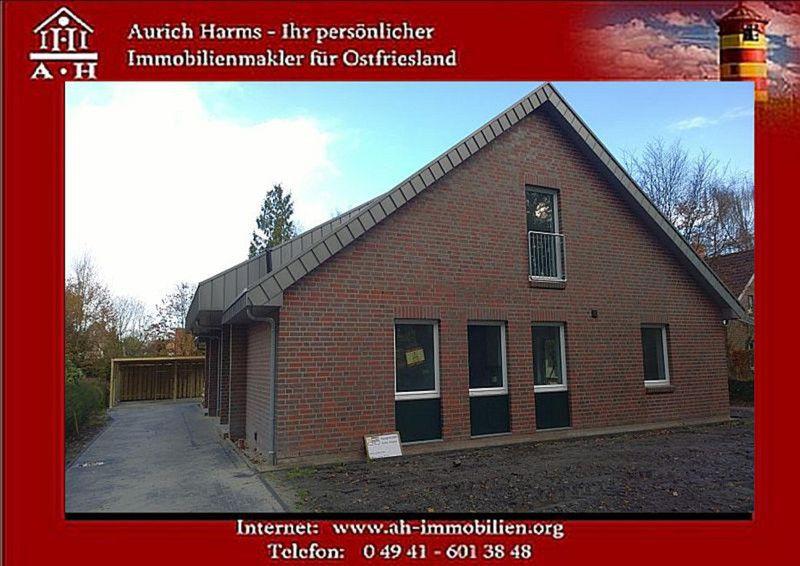 Provisionfrei Exklusive 3 1 Neubau DHH Herzen Ostfrieslands - Haus mieten - Bild 1