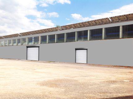 Produktions-/Lagerhalle und Freifläche