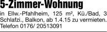 Wohnung in Ellwangen  - Röhlingen