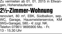 Wohnung in Ellwangen  - Ellwangen