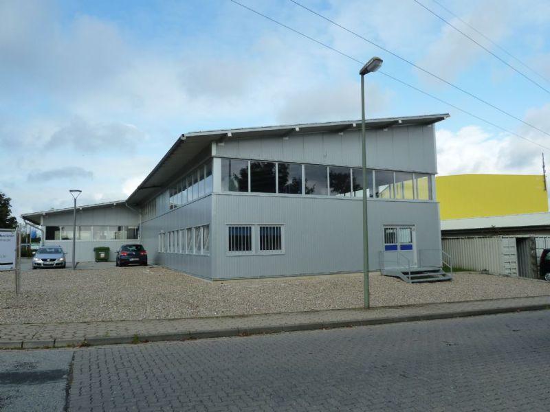 beheizte isolierte Halle B�ror�umen 510 qm Baujahr 2012 - Gewerbeimmobilie mieten - Bild 1