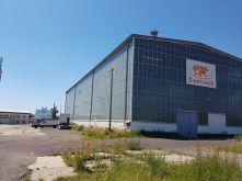 Industriehalle in Magdeburg  - Brückfeld