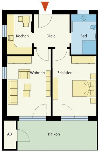 Etagenwohnung in Lotte  - Wersen