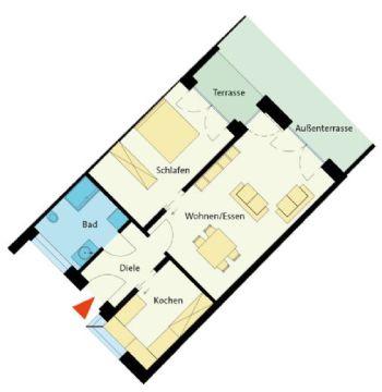 Erdgeschosswohnung in Westerkappeln  - Westerkappeln
