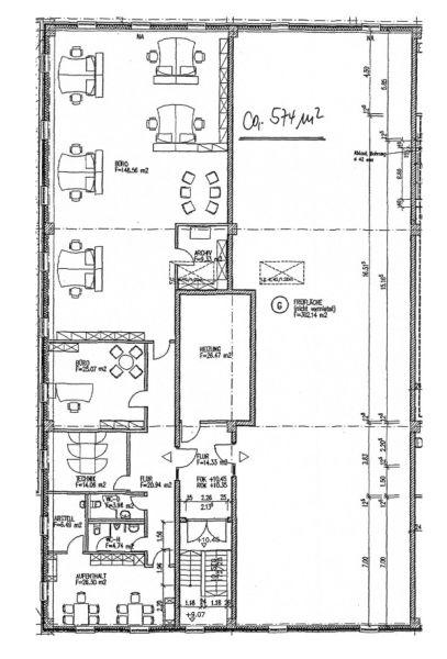 Teilbare multifunktionale B�ro Verkaufsfl�chen Regensburg S�dost - Gewerbeimmobilie mieten - Bild 1