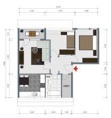 Dachgeschosswohnung in Rathenow  - Rathenow