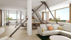 Penthouse in Mannheim  - Fahrlach