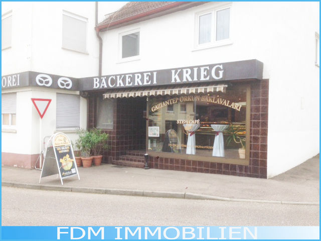 Ladenlokal In Ebersbach gro�em Schaufenster - Gewerbeimmobilie mieten - Bild 1