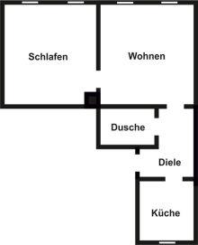 Wohnung in Riesa  - Innenstadt