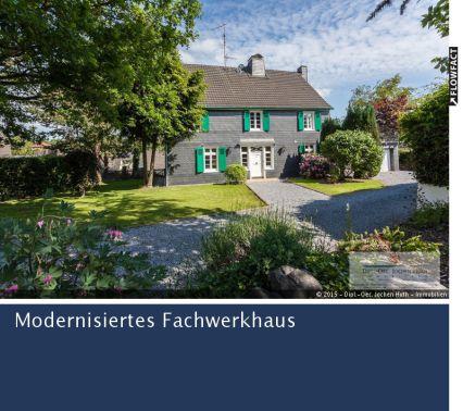 Großzügiges, modernisiertes Fachwerkhaus in Remscheid - Westen