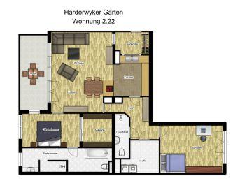 Wohnung in Leer  - Leer