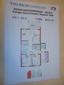 Erdgeschosswohnung in Edingen-Neckarhausen  - Neckarhausen