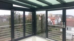 Dachgeschosswohnung in Stuttgart  - Rohr