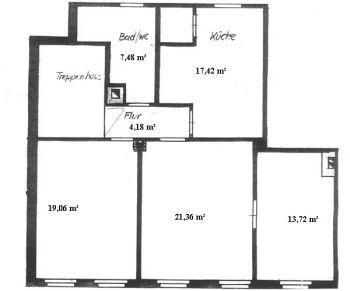 Dachgeschosswohnung in Jena  - Winzerla