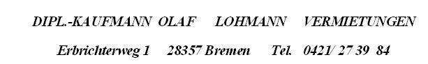 Besondere Immobilie in Bremen  - Horn