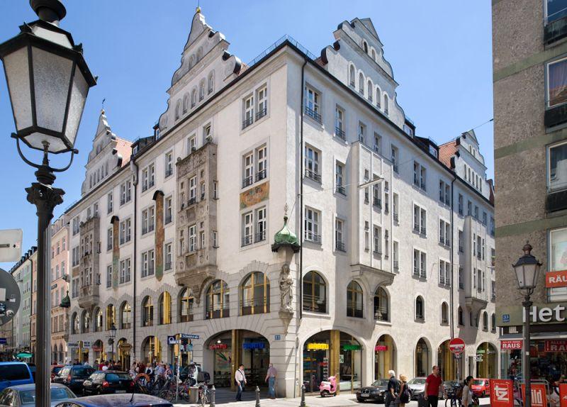 Seltene Gelegenheit Provisionsfreie B�rofl�che historischen Altbau Sendlinger S - Gewerbeimmobilie mieten - Bild 1