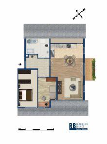 Dachgeschosswohnung in Riesa  - Weida