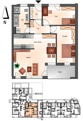 Wohnung in Deggendorf  - Deggendorf