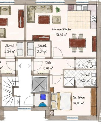 Wohnung in Delmenhorst  - Brendel/Adelheide