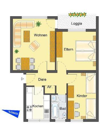 Etagenwohnung in Detmold  - Innenstadt