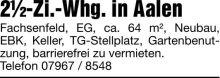 Wohnung in Aalen  - Fachsenfeld