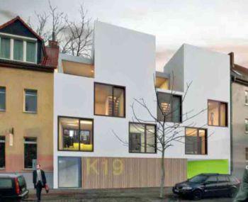 Stadthaus in Halle  - Kröllwitz