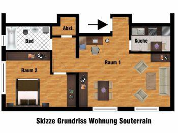 Etagenwohnung in Bad Nauheim  - Bad Nauheim