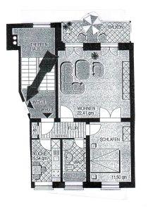 Dachgeschosswohnung in Schwerin  - Feldstadt