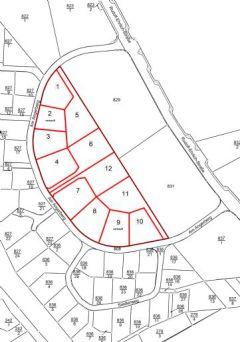 Baugrundstücke im Wohn- und Gewerbegebiet Crossen, Bebauungsplan 312