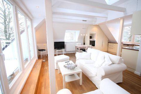 Hochwertig möblierte Wohnung in Klein Flottbek