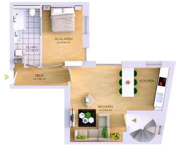 Wohnung in Cottbus  - Mitte