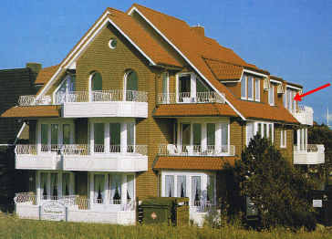 Dachgeschosswohnung in Cuxhaven  - Duhnen