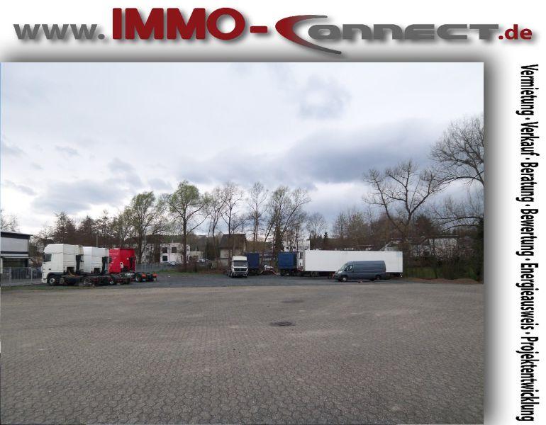 IMMO Connect 1100m� PKW Wohnwagen Wohnmobile Anh�nger LKW Verkaufsfl�che vermieten - Grundst�ck mieten - Bild 1