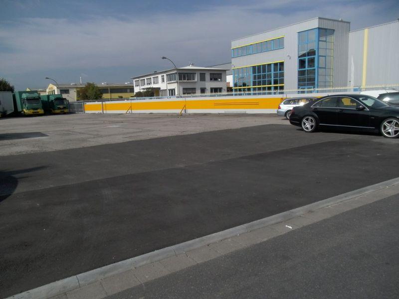 700 1500m� Grundst�ck B�ro Autohandel Autovermietung Fl�rsheim Flughafen prei - Grundst�ck mieten - Bild 1