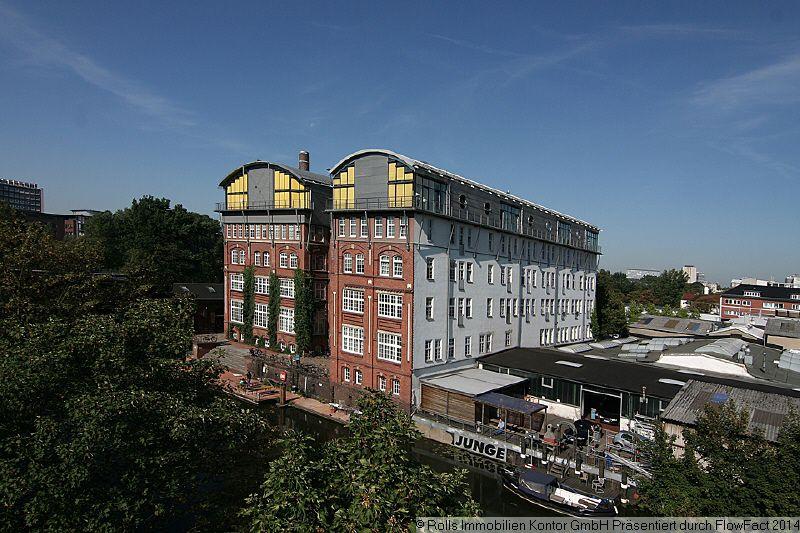 Topb�roloft Blick Kanal - Gewerbeimmobilie mieten - Bild 1