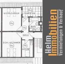 Dachgeschosswohnung in Mannheim  - Quadrate