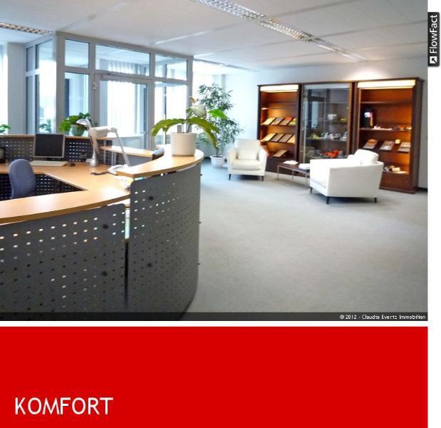 PROVISIONSFREI Gro�z�gige B�roetagen D�sseldorf Heerdt - Gewerbeimmobilie mieten - Bild 1