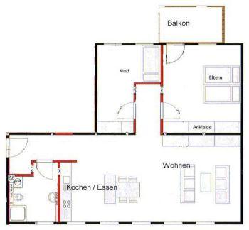 Wohnung in Langewiesen