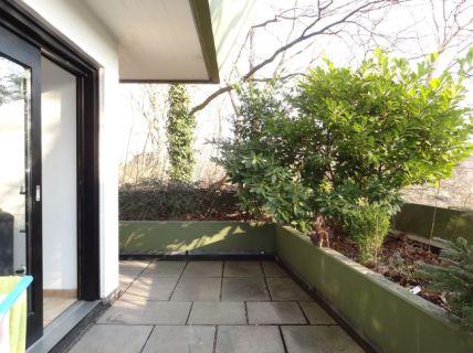 Helle 2 Zimmer Wohnung mit großer Terrasse