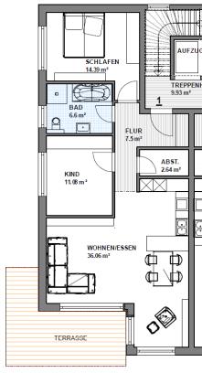 Etagenwohnung in Gießen  - Wieseck