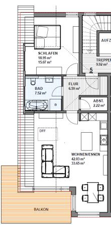 Dachgeschosswohnung in Gießen  - Wieseck