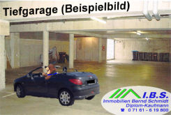 Tiefgaragenstellplatz in Göppingen  - Stadtgebiet