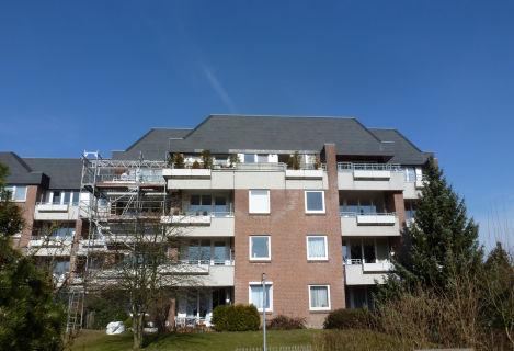 Sonnige 2-Zi.-Wohnung in Halstenbek, II.OG mit Süd-Balkon