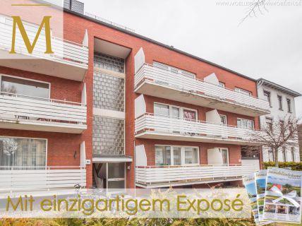 Single-Wohnung in Uninähe - Renovierungsbed. mit Balkon und Garage in...