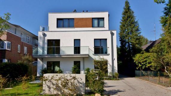 Einzigartige Neubau-Eigentumswohnung im schönen Volksdorf