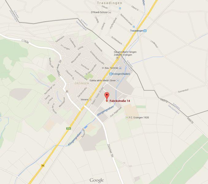 Gewerbefl�chen Einzelhandel 79771 Klettgau Erzingen - Grundst�ck mieten - Bild 1