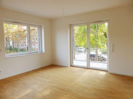 Helle Neubau-Wohnung im Ortskern von Rissen
