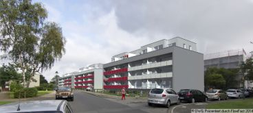 Dachgeschosswohnung in Düsseldorf  - Lörick