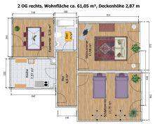 Dachgeschosswohnung in Döbeln  - Döbeln