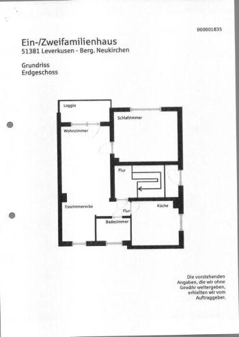Erdgeschosswohnung in Leverkusen  - Bergisch Neukirchen